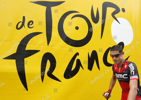 Bmc Racing Procycling Team Rider George Hincapie of Us Arrives For the Start of the 2nd Stage of the Tour De France 2012 Cycling Race Between Vise and Tournai Belgium 02 July 2012 Belgium Vise