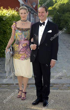 Princess Alexandra Rosemarie Ingrid Benedikte of Sayn-Wittgenstein-Berleburg, Countess of Pfeil and Count Jefferson von Pfiel