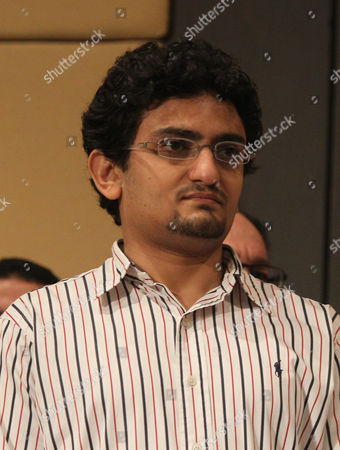Stock Image of Egyptian Activist Wael Ghonim Attends the Press Conference of Presidential Candidate Mohamed Morsi in Cairo Egypt 22 June 2012 Morsi the Muslim Brotherhood's Presidential Candidate on 22 June Criticized Egypt's Military Rulers For Granting Themselves Sweeping Powers in an Interim Constitution and Dissolving the Lower House of Parliament He Also Warned Against 'Tampering' with the Result of Last Week's Presidential Elections Which Pitted Him Against Ahmed Shafiq an Ex-military General Egypt Cairo