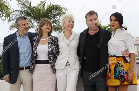 Jury Members (l-r) Argentine Critic Luciano Monteagudo French Artistic Director Sylvie Pras French Director Tonie Marshall British Director Tim Roth and French Actress Leila Bekhti Pose During the Photocall of the 'Un Certain Regard' Jury at the 65th Cannes Film Festival in Cannes France 19 May 2012 the Festival Runs From 16 to 27 May France Cannes