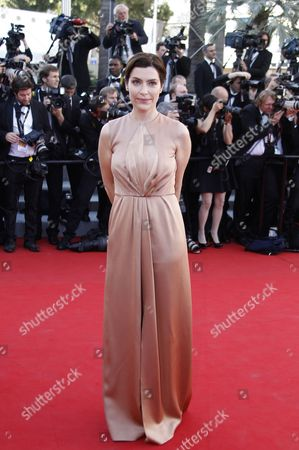 French Tv Host Daphne Roulier Arrives For the Screening of 'Moonrise Kingdom' and the Opening Ceremony of the 65th Cannes Film Festival in Cannes France 16 May 2012 Presented in Competition the Movie Opens the Festival Which Runs From 16 to 27 May France Cannes