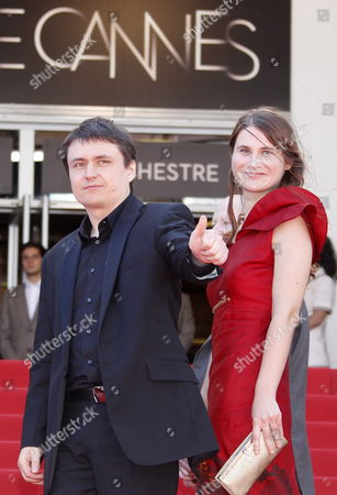Romanian Director Cristian Mungiu (l) and Actress Cristina Flutur (r) Arrive For the Screening of 'Dupa Dealuri' (beyond the Hills) During the 65th Cannes Film Festival in Cannes France 19 May 2012 the Movie is Presented in the Official Competition of the Festival Which Runs From 16 to 27 May France Cannes
