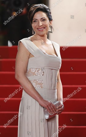 Stock Picture of Italian Actress Loredana Simioli Arrives For the Screening of 'Reality' During the 65th Cannes Film Festival in Cannes France 18 May 2012 the Movie is Presented in the Official Competition of the Festival Which Runs From 16 to 27 May France Cannes