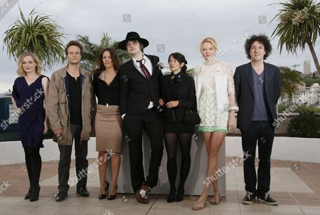 (l-r) French Actress Julie Judd German Actor August Diehl French Actress Karole Rocher British Singer Pete Doherty French Director Sylvie Verheyde British Model and Actress Lily Cole and French Actor Guillaume Gallienne Pose During the Photocall For 'Confession of a Child of the Century' at the 65th Cannes Film Festival in Cannes France 20 May 2012 the Movie is Presented in the 'Un Certain Regard' Section of the Festival Which Runs From 16 to 27 May France Cannes
