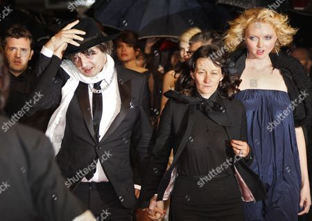 British Singer Pete Doherty (l) French Director Sylvie Verheyde (c) and British Model and Actress Lily Cole (r) Arrive For the Screening of 'Jagten' (the Hunt) During the 65th Cannes Film Festival in Cannes France 20 May 2012 the Movie is Presented in the Official Competition of the Festival Which Runs From 16 to 27 May France Cannes