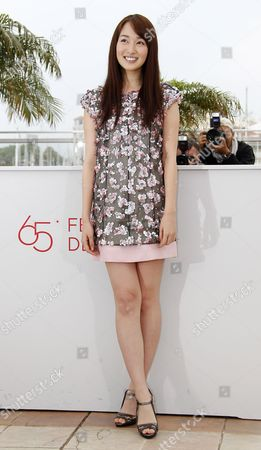 Japanese Actress Rin Takanashi Poses During the Photocall For 'Like Someone in Love' at the 65th Cannes Film Festival in Cannes France 21 May 2012 the Movie is Presented in the Official Competition of the Festival Which Runs From 16 to 27 May France Cannes