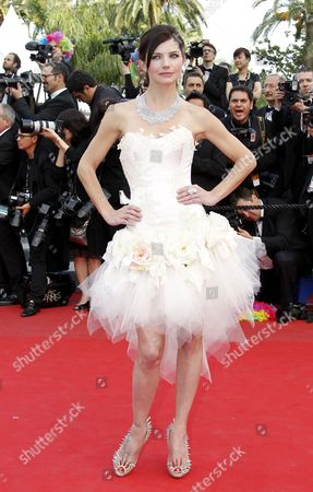 French Actress Delphine Chaneac Arrives For the Screening of 'Madagascar 3: Europe's Most Wanted' During the 65th Cannes Film Festival in Cannes France 18 May 2012 the Movie is Presented out of Competition at the Festival Which Runs From 16 to 27 May France Cannes