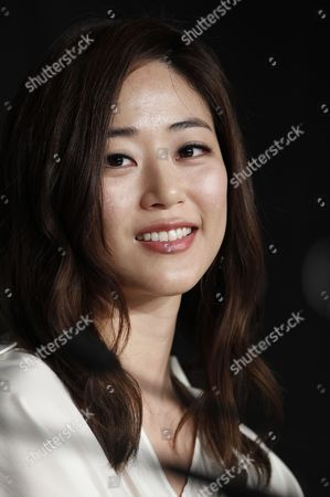 South Korean Actress Kim Hyo-jin Attends the Press Conference For 'Do-nui Mat' (the Taste of Money) During the 65th Cannes Film Festival in Cannes France 26 May 2012 the Movie is Presented in the Official Competition of the Festival Which Runs From 16 to 27 May France Cannes
