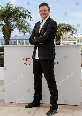 Colombian Director Juan Andres Arango Poses During the Photocall For 'La Playa Dc' at the 65th Cannes Film Festival in Cannes France 24 May 2012 the Movie is Presented in the 'Un Certain Regard' Section of the Festival Which Runs From 16 to 27 May France Cannes