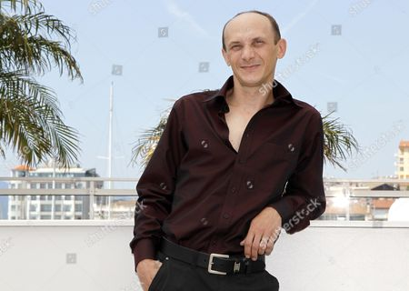 Actor Sergei Kolesov Poses During the Photocall For 'V Tumane' (in the Fog) at the 65th Cannes Film Festival in Cannes France 25 May 2012 the Movie is Presented in the Official Competition of the Festival Which Runs From 16 to 27 May France Cannes