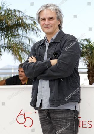French Director Gilles Bourdos Poses During the Photocall For 'Renoir' at the 65th Cannes Film Festival in Cannes France 26 May 2012 the Movie is Presented in the 'Un Certain Regard' Section of the Festival Which Runs From 16 to 27 May France Cannes