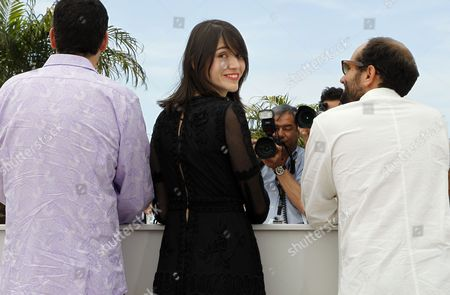 Actress Nathalia Acevedo (c) Poses During the Photocall For 'Post Tenebras Lux' at the 65th Cannes Film Festival in Cannes France 24 May 2012 the Movie is Presented in the Official Competition of the Festival Which Runs From 16 to 27 May France Cannes