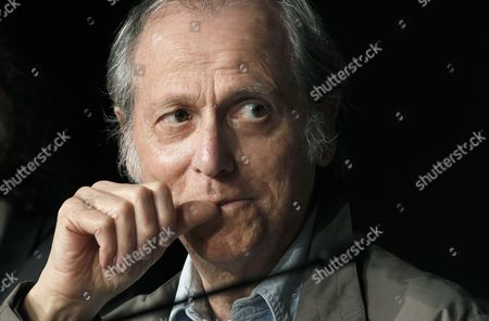 Stock Image of Us Writer Don Delillo Attends the Press Conference For 'Cosmopolis' During the 65th Cannes Film Festival in Cannes France 25 May 2012 the Movie is Presented in the Official Competition of the Festival Which Runs From 16 to 27 May France Cannes