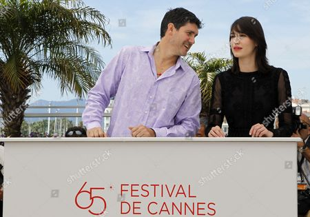 Mexican Actor Adolfo Jimenez Castro (l) and Actress Nathalia Acevedo (r) Pose During the Photocall For 'Post Tenebras Lux' at the 65th Cannes Film Festival in Cannes France 24 May 2012 the Movie is Presented in the Official Competition of the Festival Which Runs From 16 to 27 May France Cannes
