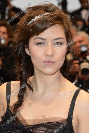 French Actress Mylene Jampanoi Arrives For the Screening of 'Amour' (love) During the 65th Cannes Film Festival in Cannes France 20 May 2012 the Movie is Presented in the Official Competition of the Festival Which Runs From 16 to 27 May France Cannes