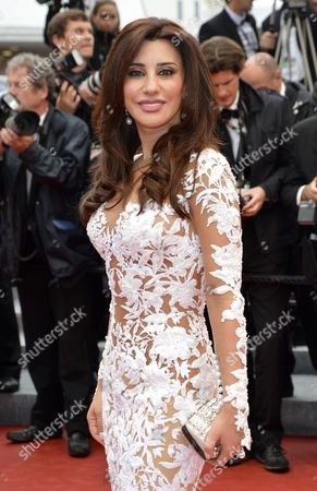 Lebanese Singer Najwa Karam Arrives For the Screening of 'Vous N'avez Encore Rien Vu' (you Ain't Seen Nothin' Yet) During the 65th Cannes Film Festival in Cannes France 21 May 2012 the Movie is Presented in the Official Competition of the Festival Which Runs From 16 to 27 May France Cannes