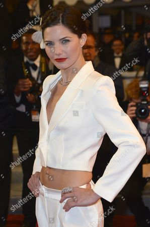 French Actress Delphine Chaneac Arrives For the Screening of 'Like Someone in Love' During the 65th Cannes Film Festival in Cannes France 21 May 2012 the Movie is Presented in the Official Competition of the Festival Which Runs From 16 to 27 May France Cannes