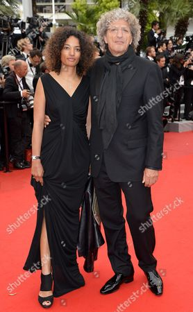 French Director Elie Chouraqui (r) and His Wife Isabel (l) Arrive For the Screening of 'Vous N'avez Encore Rien Vu' (you Ain't Seen Nothin' Yet) During the 65th Cannes Film Festival in Cannes France 21 May 2012 the Movie is Presented in the Official Competition of the Festival Which Runs From 16 to 27 May France Cannes