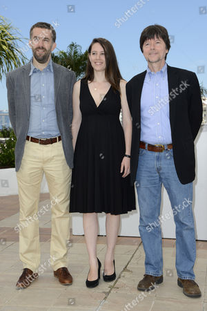 (l-r) Screenwriters and Directors David Mcmahon Sarah Burns and Ken Burns Pose During the Photocall For 'The Central Park Five' at the 65th Cannes Film Festival in Cannes France 24 May 2012 the Movie is Presented in the 'Special Screenings' Section of the Festival Which Runs From 16 to 27 May France Cannes