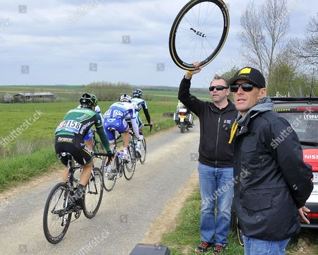 Editorial picture of France Cycling Paris - roubaix - Apr 2012