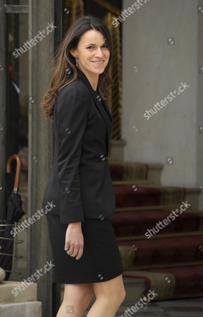 Aurelie Fillippetti French Culture Minister Arrives at the Elysee Palace For the First Cabinet Meeting of Prime Minister Jean Marc Ayrault's Government in Paris France 17 May 2012 France's 34 New Cabinet Ministers Assumed Office on 17 May One Day After Being Named by Prime Minister Jean-marc Ayrault France Paris