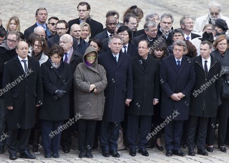 Editorial photo of France Resistance Hero Aubrac Funeral - Apr 2012