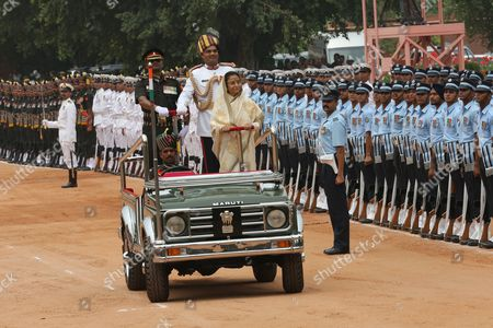 Editorial image of India New President Welcome Ceremony - Jul 2012