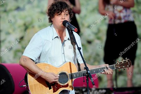 Editorial image of Ron Sexsmith performs on stage in Stockholm, Sweden  - 31 May 2008