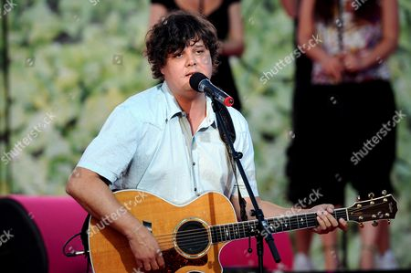 Editorial photo of Ron Sexsmith performs on stage in Stockholm, Sweden  - 31 May 2008