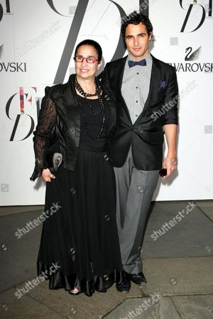 Zac Posen and mother Susan Posen