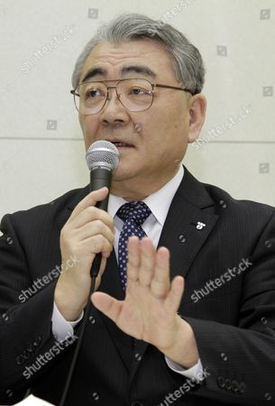Tokyo Electric Power Company Incorporated (tepco) President Toshio Nishizawa Announces Its Earning Result of the Fiscal Year Ending at the Headquarters in Tokyo Japan 14 May 2012 Japan Tokyo