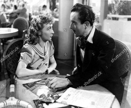 Stock Image of 'Holiday Camp'   Film Dennis Price and Esma Cannon