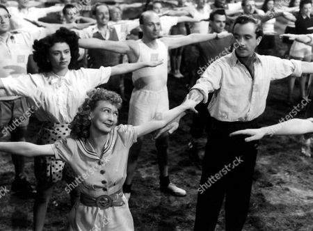 Stock Picture of 'Holiday Camp'   Film Dennis Price and Esma Cannon