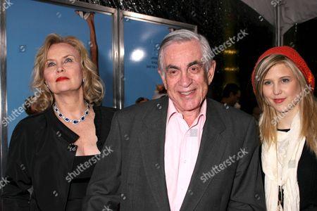 Stock Picture of Martin Bregman, Cornelia Guest with daughter