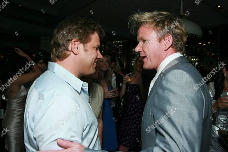 Chef Ben Ford and Chef Gordon Ramsay