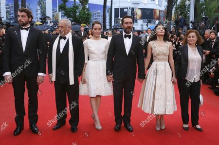 (l-r) French Actor Stanley Weber French Actor Francis Perrin French Actress Anais Demoustier French Actor Gilles Lellouche French Actress Audrey Tautou and French Actress Catherine Arditi Arrive For the Screening of 'Therese Desqueyroux' and the Closing Award Ceremony of the 65th Cannes Film Festival in Cannes France 27 May 2012 the Screening of the Movie Presented out of Competition Closes the Festival France Cannes