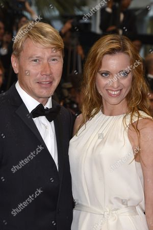 Finnish Former Formula 1 Driver Mika Hakkinen (l) and His Partner Marketa Kromatova (r) Arrive For the Screening of 'Therese Desqueyroux' and the Closing Award Ceremony of the 65th Cannes Film Festival in Cannes France 27 May 2012 the Screening of the Movie Presented out of Competition Closes the Festival France Cannes