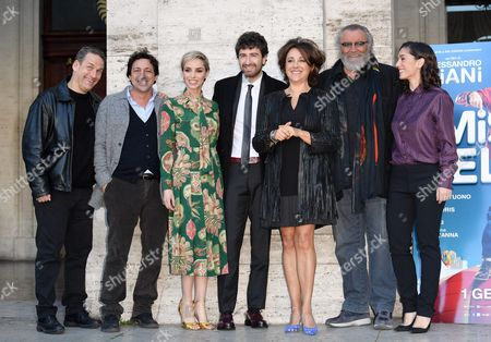 Editorial photo of 'Mister Felicita' film photocall, Rome, Italy - 28 Dec 2016