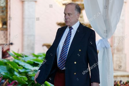 World Jewish Congress President Ronald Lauder arrives at Mar-a-Lago for meetings with President-elect Donald Trump and his transition team, in Palm Beach, Fla