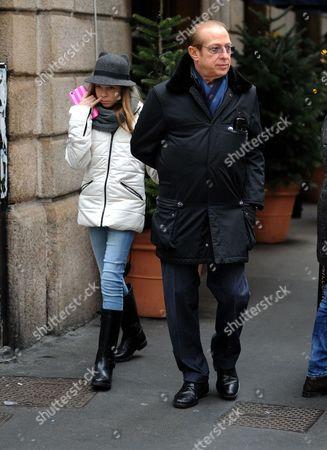 Paolo Berlusconi and Rebecca Paolo Berlusconi