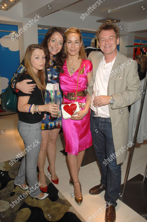 Stock Image of Eloise Valentine Smyth, Miss Dee Murren aka Miss Dee, Tara Palmer-Tomkinson and Carl Smyth aka Chas Smash