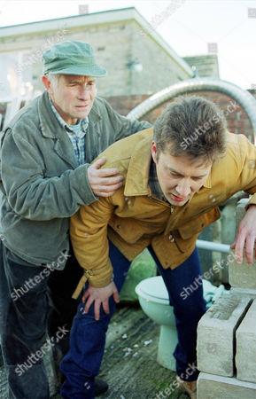 'Wokenwell'   TV.  Series 1 Episode 6 Barry Jackson (left) with Ian Burfield