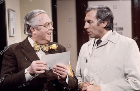 'Larry Grayson Show'   TV Larry Grayson (right) with Robert Dorning