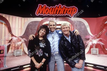 'Mouthtrap'   TV Sally James with Don Maclean (centre) and Chris Tarrant