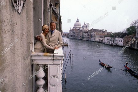 'Brideshead Revisited' TV programme - Stephane Audran and Laurence Olivier