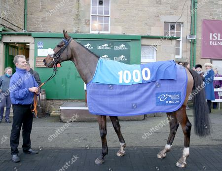LOUGH DERG JEWEL Ridden by Will Kennedy wins at Kelso to get Trainer Donald McCain his 1000th Winner