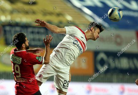 Mahmoud Hamdy and Abdallah Said