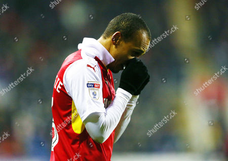 Peter Odemwingie of Rotherham United looks dejected during the Sky Bet Championship match between Rotherham United and Burton Albion played at the AESSEAL New York Stadium, Rotherham on 29th December 2016