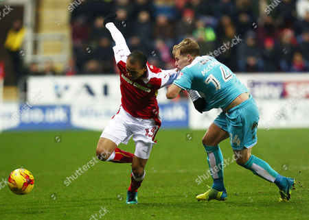 Editorial photo of Football - Sky Bet Championship 2016/17 Rotherham United v Burton Albion New York Stadium, New York Way, Rotherham, United Kingdom - 29 Dec 2016