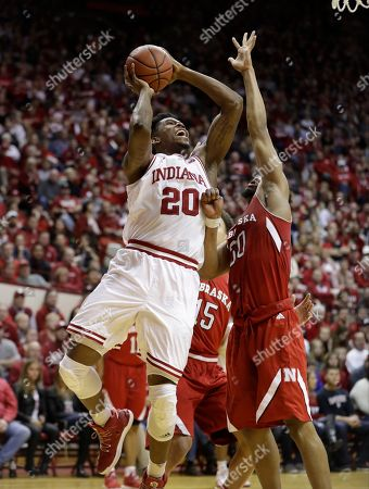 Editorial photo of Nebraska Indiana Basketball, Bloomington, USA - 28 Dec 2016